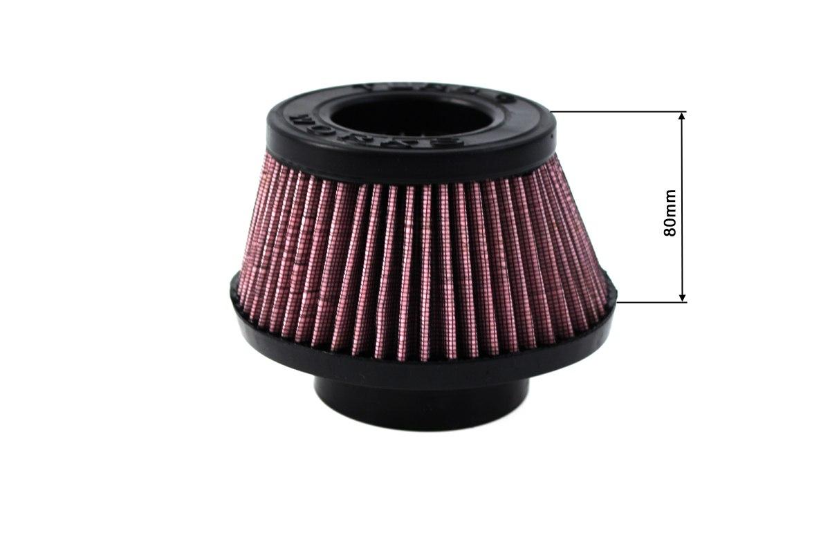 Filtr stożkowy TURBOWORKS H:80mm OTW:60-77mm Purple - GRUBYGARAGE - Sklep Tuningowy